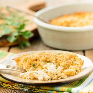 Crab Casserole for Two