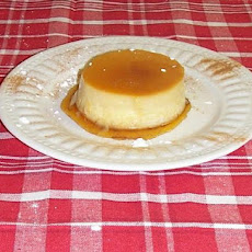 Mean Chef's Espresso Flan