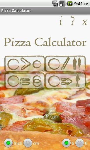 Pizza Calculator - Free