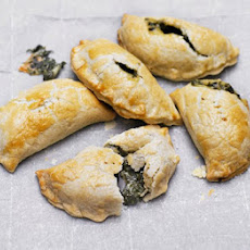 Cheese & Spinach Pasties