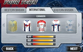 Screenshot of Hockey Nations 2011 THD