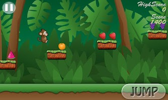 Screenshot of Monkey Run