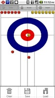 Screenshot of Curling Strategy Board