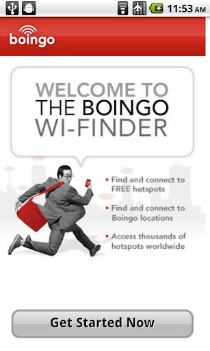 boingo-wi-finder for android screenshot