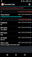 Screenshot of Calls Recall | Call Recorder