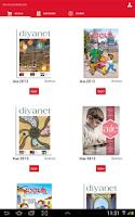 Screenshot of Diyanet Dergileri (2013 Yılı)