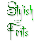 Free Stylish Fonts APK for Windows 8