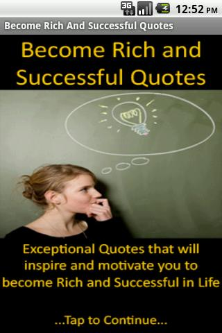 Rich Successful Quotes