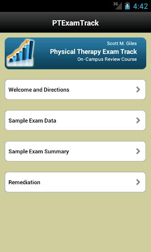 【免費醫療App】Physical Therapy Exam Track-APP點子