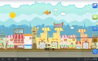 Screenshot of My Little Town Live wallpaper