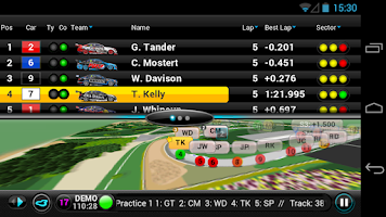 Screenshot of V8 Supercars