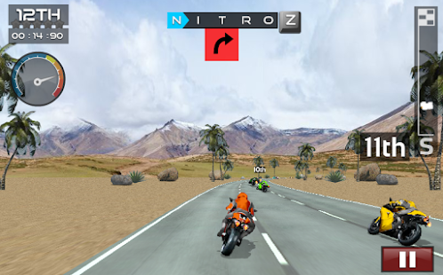 Super Bike Racer- screenshot thumbnail