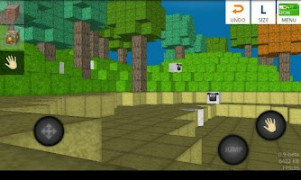 Screenshot of BlockWorld