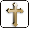 Cross doo-dad gold icon