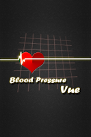 Screenshot of BloodPressure Vue