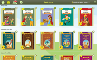 Screenshot of StoryTruck Kids Storybooks