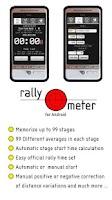 Screenshot of RallymeterLite