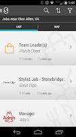 Screenshot of Job Search - Snagajob