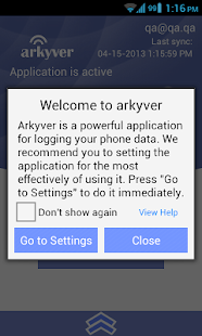 Arkyver Free call/sms logger - screenshot