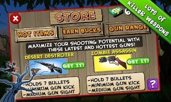 Screenshot of Zombie Duck Hunt