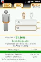 Screenshot of BMI - BAI Calculator