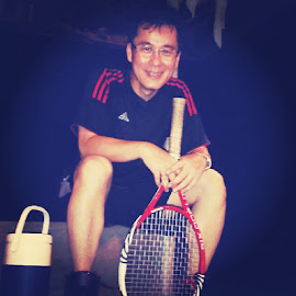 BluepowerauraPicture by Kurniadi Sugiarta - Sports & Fitness Tennis (  )