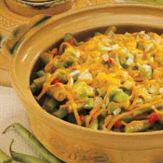 Saucy Green Bean Bake