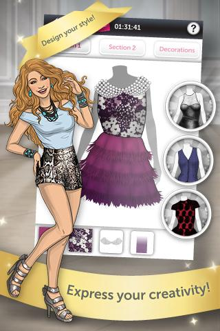 Clothing Designer Game fashion star boutique for