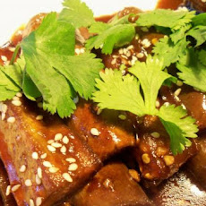 Hot Chinese Eggplant (Aubergine)