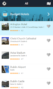 Dublin city guide(maps) - screenshot
