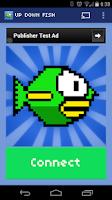 Screenshot of Up Down Fish - Chromecast Game