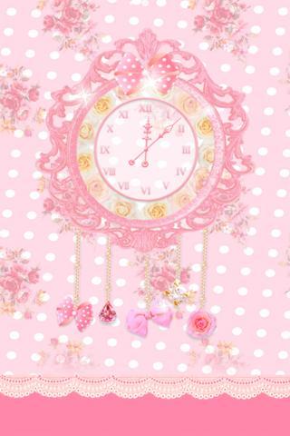 princess clock LWallpaper