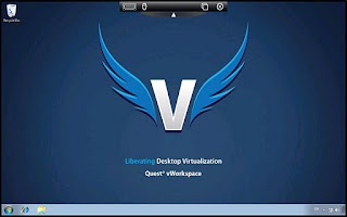 Screenshot of vWorkspace
