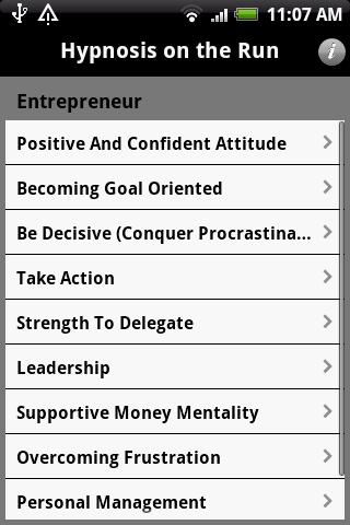 Hypnosis OTR – Entrepreneur