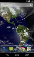 Screenshot of WorldView Live Wallpaper