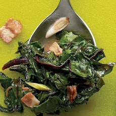 Beet Greens with Bacon
