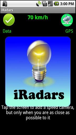iRadars Speed Camera Warner