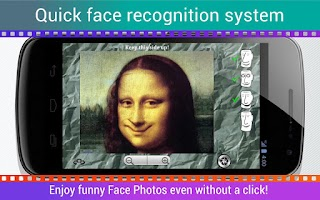 Screenshot of Face Wrap Camera