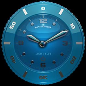 Clock Widget Lightblue Star PC Download / Windows 7.8.10 / MAC