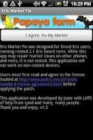 Screenshot of Eris Market Fix - Free