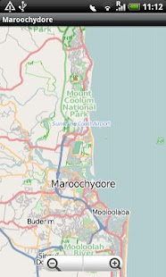 Maroochydore Street Map - screenshot