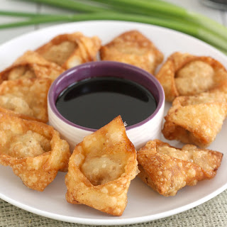 Fried Pork and Shrimp Wontons