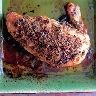 Lavender and Honey Glazed Chicken
