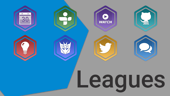 Leagues Icon Pack - screenshot