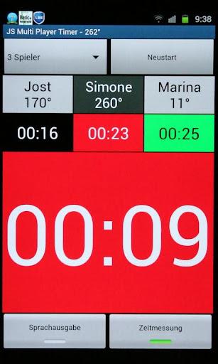JS Multi Player Timer