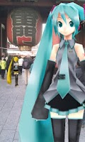 Screenshot of MikuMikuPhoto