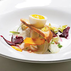 Pickled Vegetable Salad with Soft-Boiled Eggs