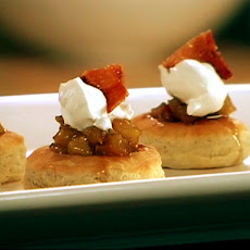 Bourbon Bacon Apple Tarts