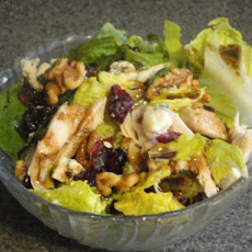 Chicken, Cranberry and Gorgonzola Salad