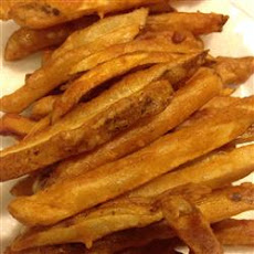 Homemade Crispy Seasoned French Fries